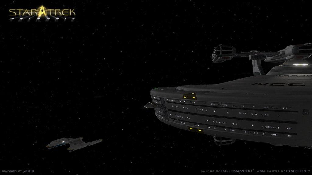 Warp Shuttle Docked